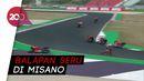 Rossi Out, Vinales Juarai MotoGP Emilia Romagna