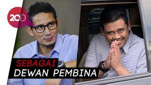 Sandiaga Uno Gabung Tim Pemenangan Bobby Nasution di Pilkada Medan