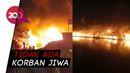 Kebakaran Gudang Kayu di Jakut, 100 Rumah Ikut Hangus