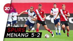 Tottenham Bantai Southampton, Son Heung-min 4 Gol