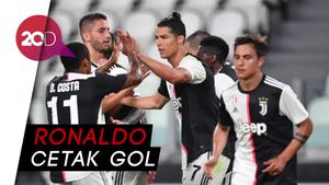 Debut Manis Andrea Pirlo, Juventus Bantai Sampdoria 3-0