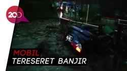 Detik-detik Banjir Bandang Terjang Permukiman di Cicurug Sukabumi