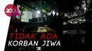 Pohon Tumbang di Jakpus Menimpa Mobil Minibus Hingga Hancur