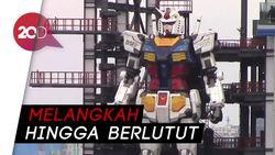 Kerennya Gundam Yokohama Setinggi 18 Meter yang Bisa Bergerak!