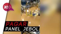 Waduh! Pabrik Aqua di Sukabumi Terendam Banjir