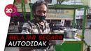 Keren! Tukang Bubur Kacang Ijo di Surabaya Lihai Bahasa Jepang