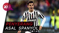 Alvaro Morata Resmi Balikan dengan Juventus