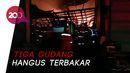 Gudang Perabot Rumah Tangga di Surabaya Terbakar