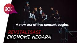 Persiapkan Era Pasca-Corona, Korsel Sokong Konser Online K-Pop