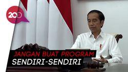 Jokowi Minta Kementerian Saling Terintegrasi dalam Bangun Desa