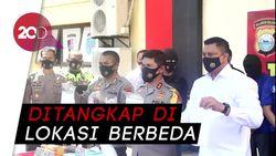 4 Pria Ditangkap Terkait Kasus 13 Kg Sabu dan Ribuan Pil Ekstasi di Makassar