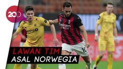 Dua Gol Calhanoglu Bawa AC Milan Menang Atas Bodo/Glimt