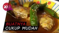 Pedasnya Ikan Rajang Cabai Hijau Khas Lombok