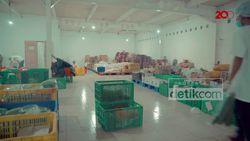 Melihat Gudang Distributor Sayur dan Buah Online di Masa Corona