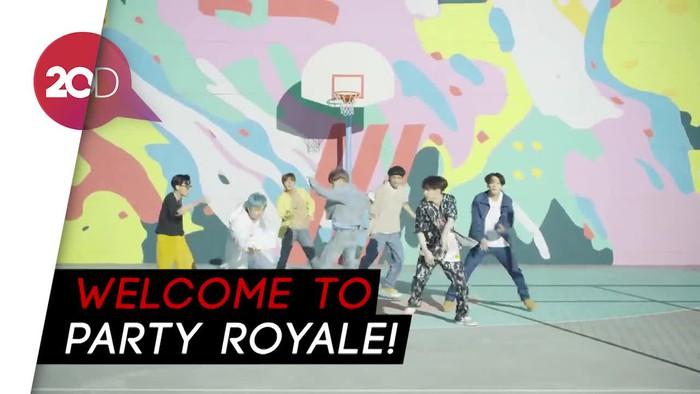 MV Baru Dynamite BTS Meluncur di Game Fortnite