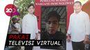 Hari Pertama Kampanye, Gibran Blusukan Virtual