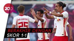 Leverkusen Vs RB Leipzig Imbang, Gol-golnya Keren