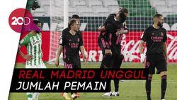 Real Madrid Raih Kemenangan Perdana Saat Bekuk Real Betis 3-2