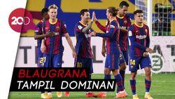 Barcelona Bantai Villarreal 4-0, Ansu Fati 2 Gol