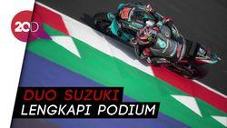 Quartararo Juara MotoGP Catalunya, Rossi Out