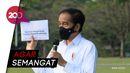 Kasih Modal Rp 2,4 Juta ke Pedagang Kecil, Jokowi: Jangan Sampai Kendor