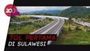 Jokowi Resmikan Tol Manado-Bitung Ruas Manado-Danowudu