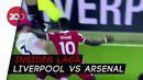 Sadio Mane Kedapatan Nyikut Pemain Arsenal