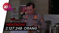 Terkumpul Rp 1,7 Miliar Terkumpul Selama 15 Hari Operasi Yustisi