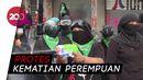 Lusinan Aktivis Perempuan Bentrok dengan Polisi Meksiko