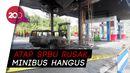 SPBU Sawangan Wonosobo Terbakar, Percikan Api Diduga dari Mobil