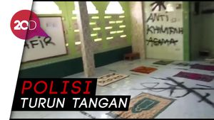Penampakan Musala di Tangerang Dicoret Saya Kafir