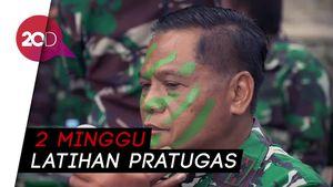450 Satgas Penyangga Pamtas Siap Ditugaskan ke Papua