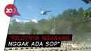 Massa Aksi Dibubarkan Pakai Helikopter, Kapolri: Pilotnya Ditindak!
