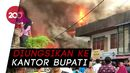 Pasien RSUD Sintang Dievakuasi karena Terpapar Asap Kebakaran Pasar