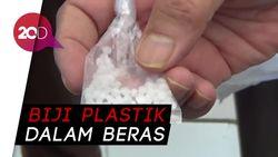 Petugas Kembali Temukan Biji Plastik Dalam Beras Bantuan di Purwakarta