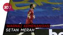 Assist Ciamik Van de Beek untuk Gol Juan Mata