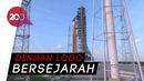 Melihat Roket NASA Berlogo Cacing yang Bakal Terbang ke Bulan