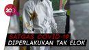 Cerita Satgas Covid-19 Surabaya Dilumuri Kotoran oleh Istri Pasien