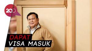 Prabowo Diizinkan Lagi Masuk ke Negeri Paman Sam