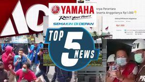 Top 5: Demo Tolak UU Cipta Kerja Ricuh, Gedung DPR Dijual Online