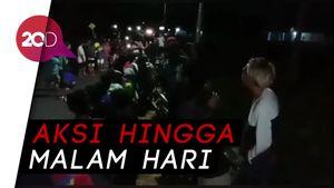 Tolak Omnibus Law, Pedemo di Makassar Tidur di Jalan
