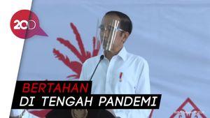 Jokowi Bagi-bagi BLT di Kalteng, Minta Usaha Mikro Tak Tutup