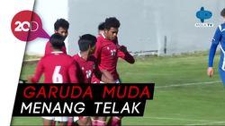 Timnas U-19 Sukses Kalahkan NK Dugopolje 3-0