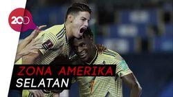Kolombia Hajar Venezuela 3-0 di Kualifikasi Piala Dunia 2022
