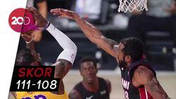Heat Menang Dramatis Atas Lakers di Gim Kelima