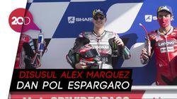 Petrucci Juara MotoGP Prancis, Rossi Jatuh Lagi