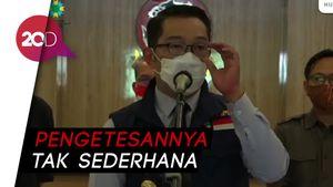 Ridwan Kamil soal Demo Omnibus Law: Tak Ada Kasus Covid-19 Terlaporkan