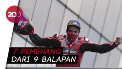 Petrucci Pemenang Ketujuh Berbeda di MotoGP 2020