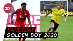 Nominasi Golden Boy 2020: Haaland hingga Alphonso Davies