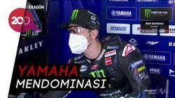 Vinales Tercepat di Latihan Bebas MotoGP Aragon Hari Ini